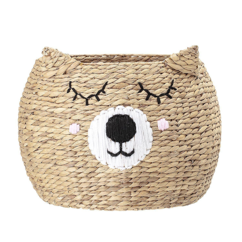 Bear Storage Basket-Bloomingville Mini-Beaumonde