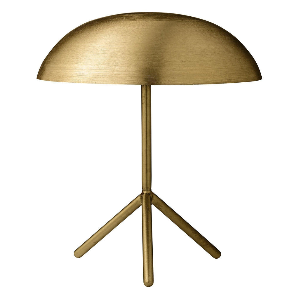 Gold Dome Table Lamp-Bloomingville-Beaumonde