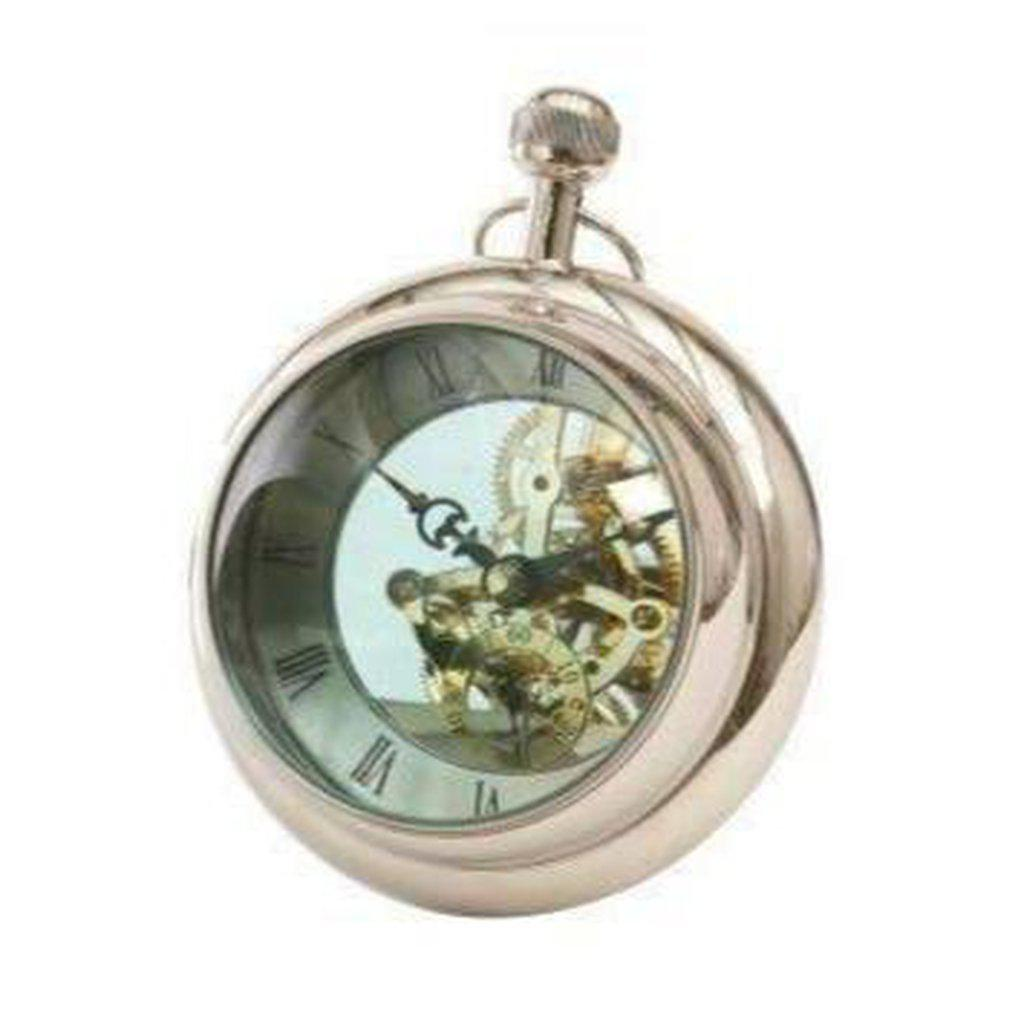Large Paperweight Clock-Libra-Beaumonde