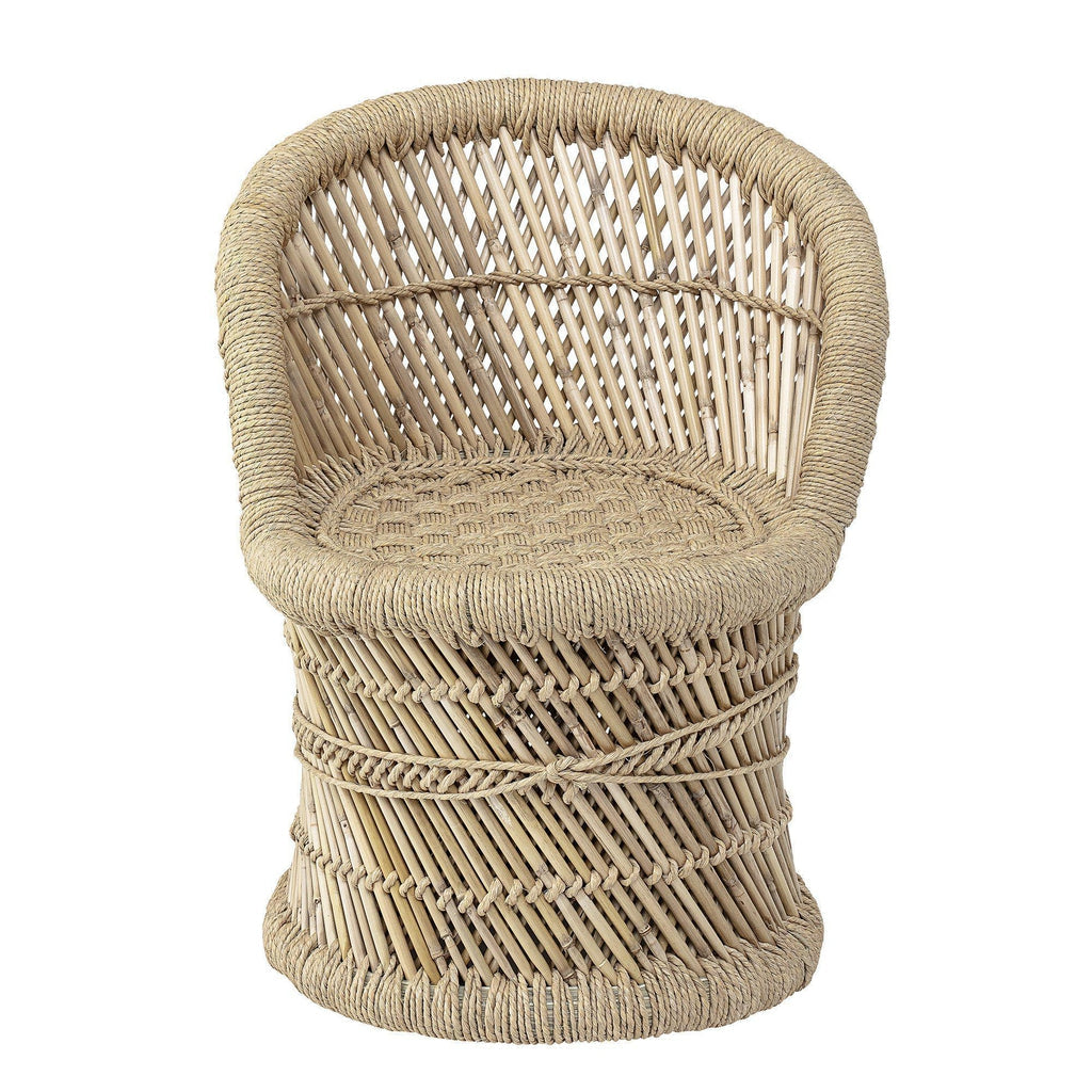 Lex Bamboo Nursery Chair-Bloomingville Mini-Beaumonde
