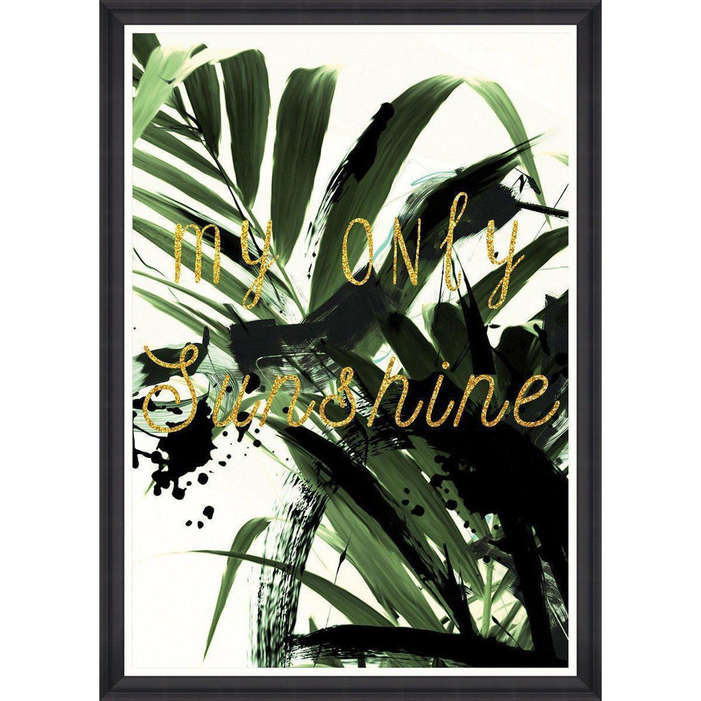 My Only Sunshine Framed Art Print-MINDTHEGAP-Beaumonde