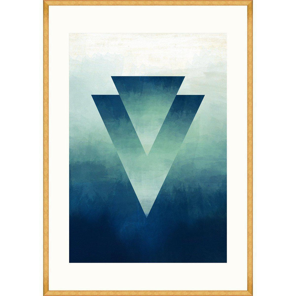 Ombre II Framed Art Print-MINDTHEGAP-Beaumonde