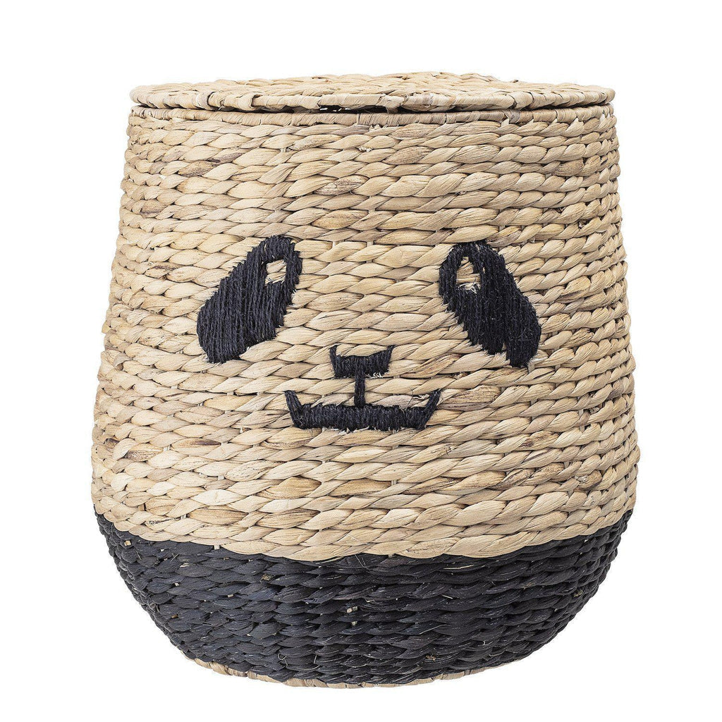 Panda Storage Basket-Bloomingville Mini-Beaumonde