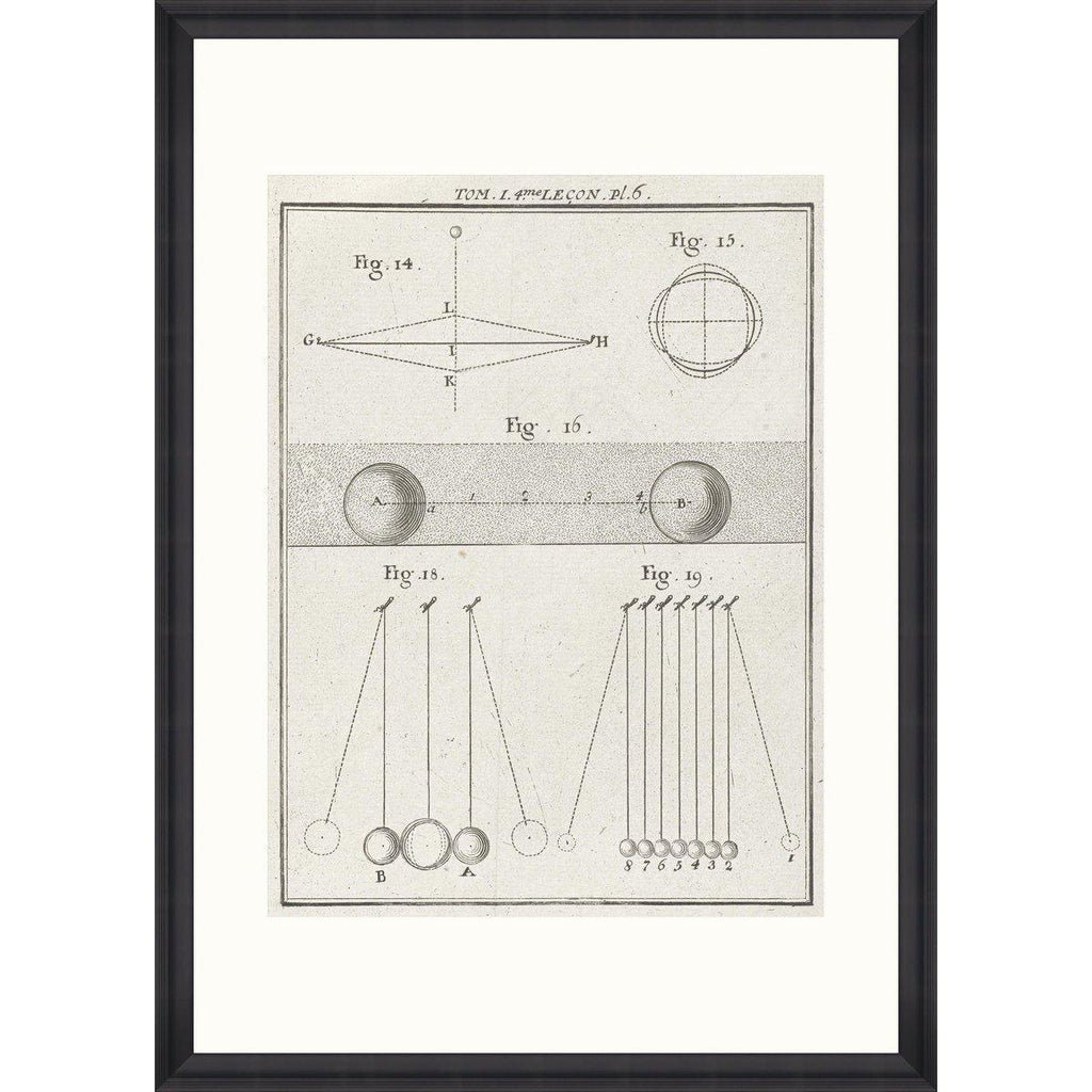 Physical Models I Framed Art Print-MINDTHEGAP-Beaumonde
