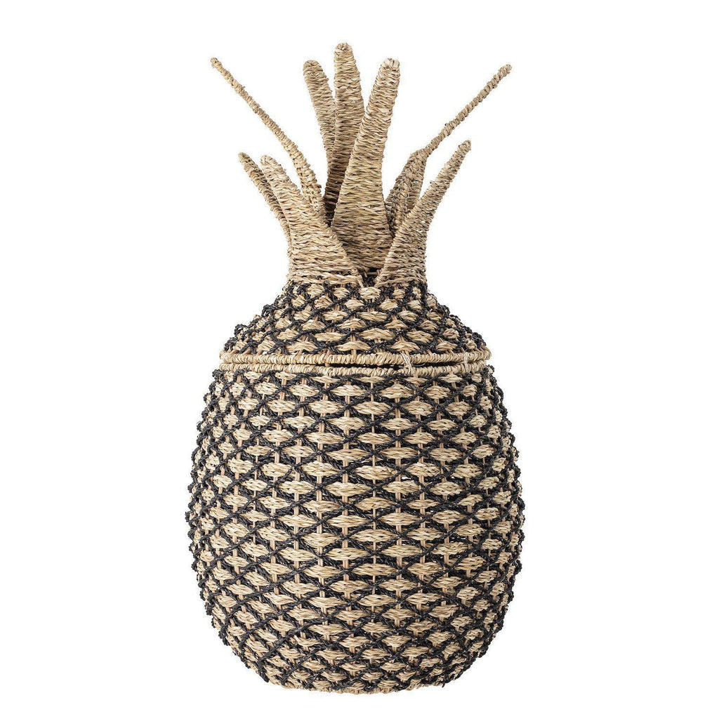 Pineapple Basket with Lid-Bloomingville Mini-Beaumonde