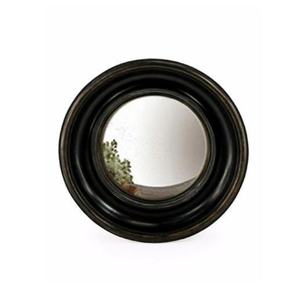 Small Black Convex Porthole Mirror-Beaumonde-Beaumonde