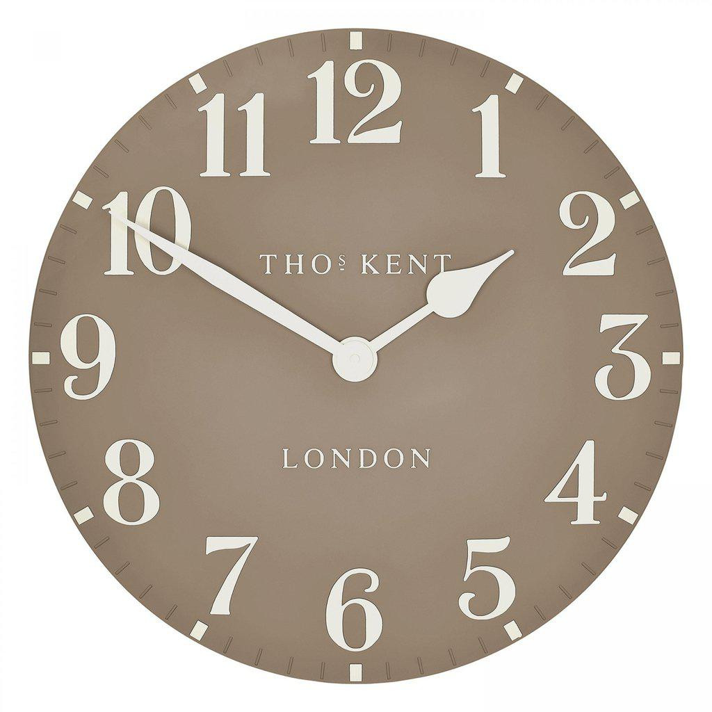 Thomas Kent Arabic Wall Clock Clay 50cm-Thomas Kent-Beaumonde