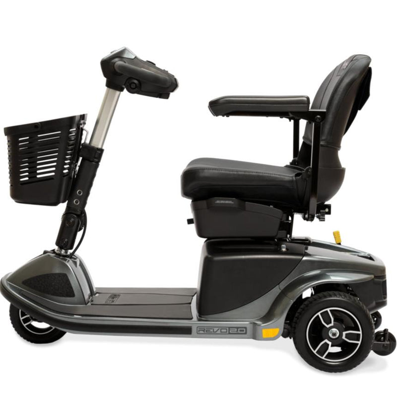 New Pride Revo 2.0 3-Wheel Mobility Scooter | Max Speed 5 MPH | 400 LBS Weight Capacity - Power Chairs Test