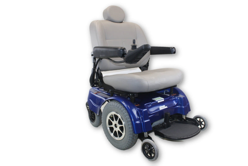 Jazzy 1170 Bariatric Power Chair With 400lbs. Weight Capacity by Pride Mobility - Power Chairs Test