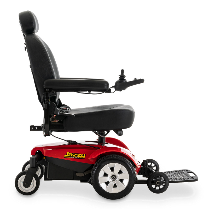 "Side of Pride Mobility Jazzy Select Power Chair | 16"" - 18""W x 16"" - 20""D Seat"