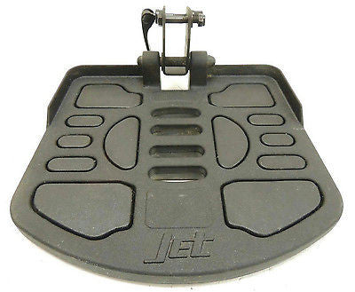 Pride Jet Footrest Platform Assembly for Power Wheelchairs-FRMASMB3182 - Power Chairs Test