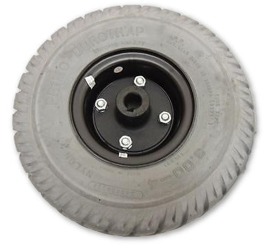 "Drive Wheel for Invacare Pronto M50 | M51 | M61 | M71 JR. | M71 Electric Wheelchairs | Primo Durotrap Flat-Free Drive Wheels | 10"" x 3"" 