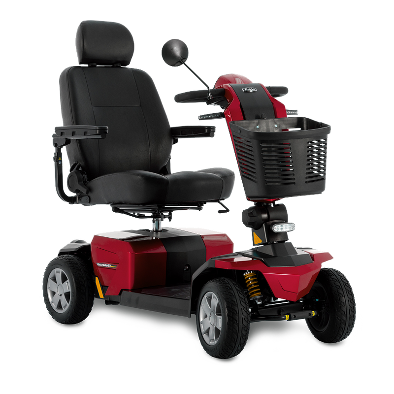 New Pride Victory LX Sport 4-Wheel Mobility Scooter | Max Speed 8 MPH | 400 LBS Weight Capacity - Power Chairs Test