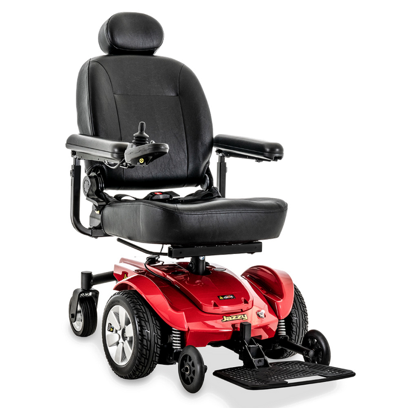 "Pride Mobility Jazzy Select Power Chair | 16"" - 18""W x 16"" - 20""D Seat"