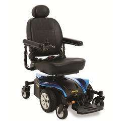 Blue New Pride Mobility Jazzy Select 6 2.0 Power Chair | 16