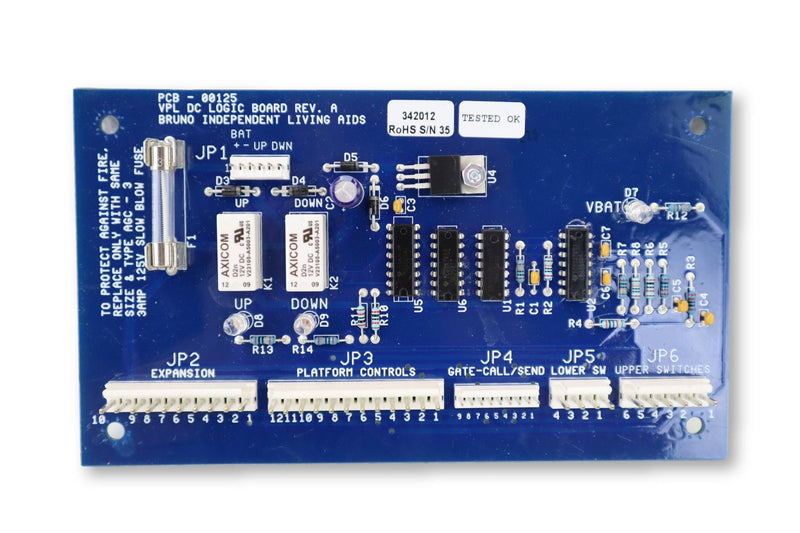 Bruno Vertical Platform Lift Circuit Board NEW | VPL-3200B | Replacement Circuit Board - Power Chairs Test