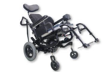 "Quickie IRIS Manual Wheelchair Tilt-In-Space | 300 lbs. Limit | 17"" x 17"" Seat"