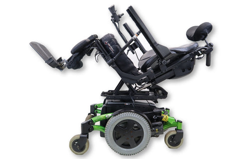 Invacare TDX SP Electric Power Chair | Seat Elevate, Tilt, Recline & Power Legs | 17