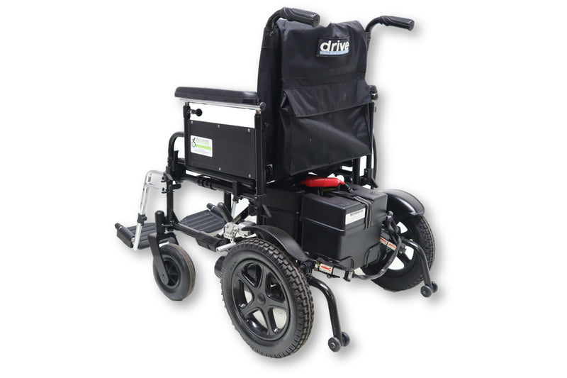 "Drive Medical Cirrus Plus Power Chair With Folding Capabilities | 18""x16"" Seat - Power Chairs Test"