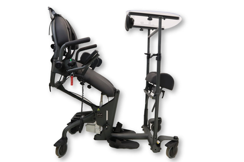 EasyStand Evolv Large Standing Frame | Automatic Electric Sit-to-Stand | PNG50084-1 | 280 Lb. Weight Capacity - Power Chairs Test