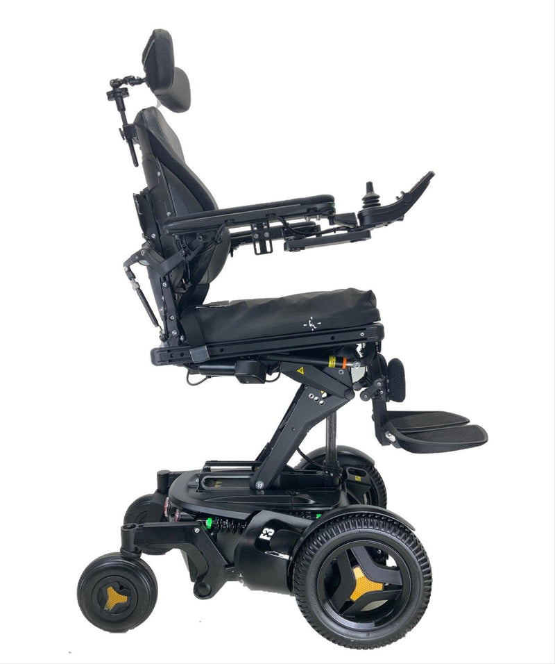 Elevated 2018 Permobil F3 Corpus Rehab Power Chair