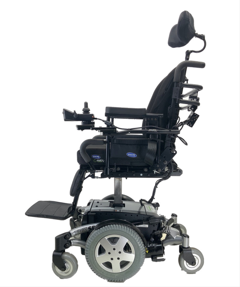 Elevated Like New Invacare TDX SP Rehab Power Chair | 17 x 20 Seat | Tilt & Seat Elevate