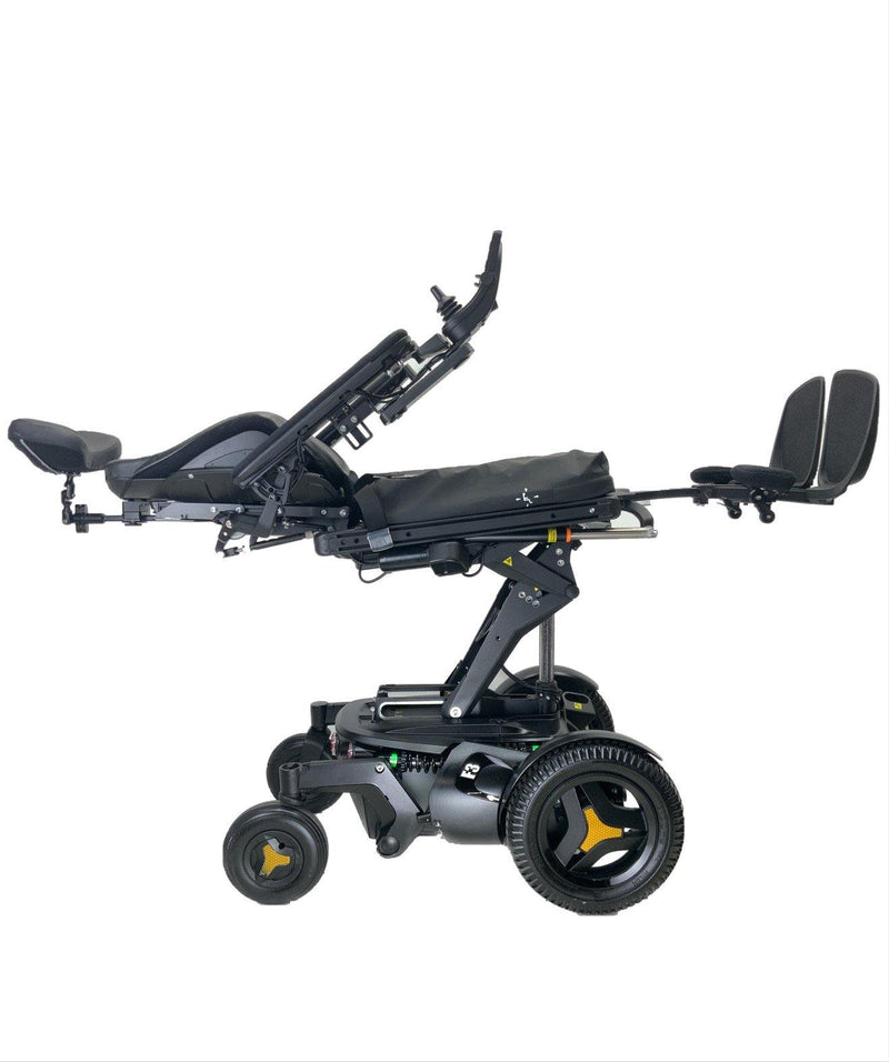 Elevated flat 2018 Permobil F3 Corpus Rehab Power Chair