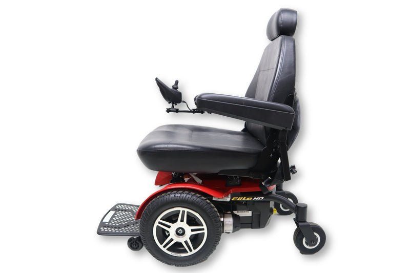 "Pride Jazzy Elite HD Power Chair | 450 lbs. Weight Capacity | 22"" x 20"" Seat - Power Chairs Test"
