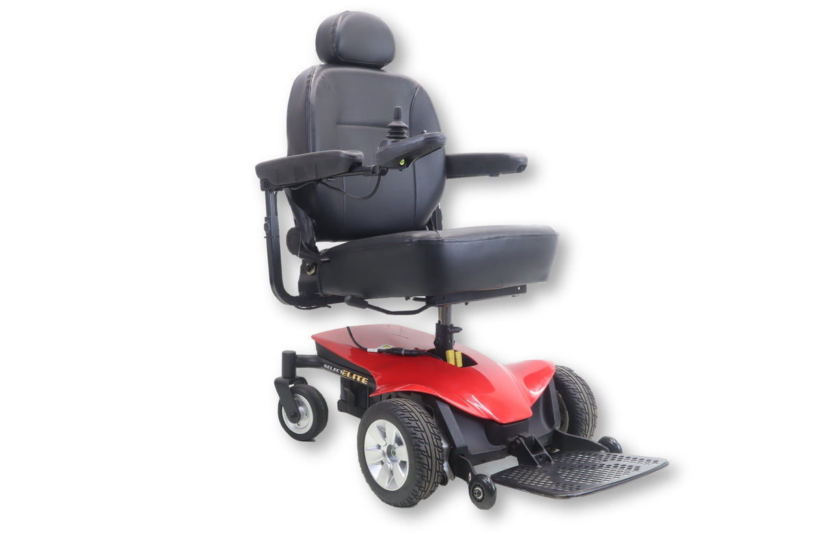 Jazzy Select Elite Power Chair Front Wheel Drive 19 Quot X