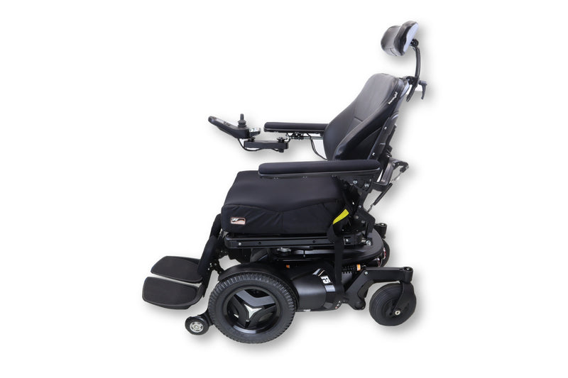 "Permobil F5 Power Chair | Tilt, Recline, & Power Legs | 17""x18"" Seat 