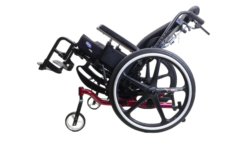 "Ki Mobility Focus CR Tilt In Space Manual Wheelchair | 17"" x 19"" Seat - Power Chairs Test"