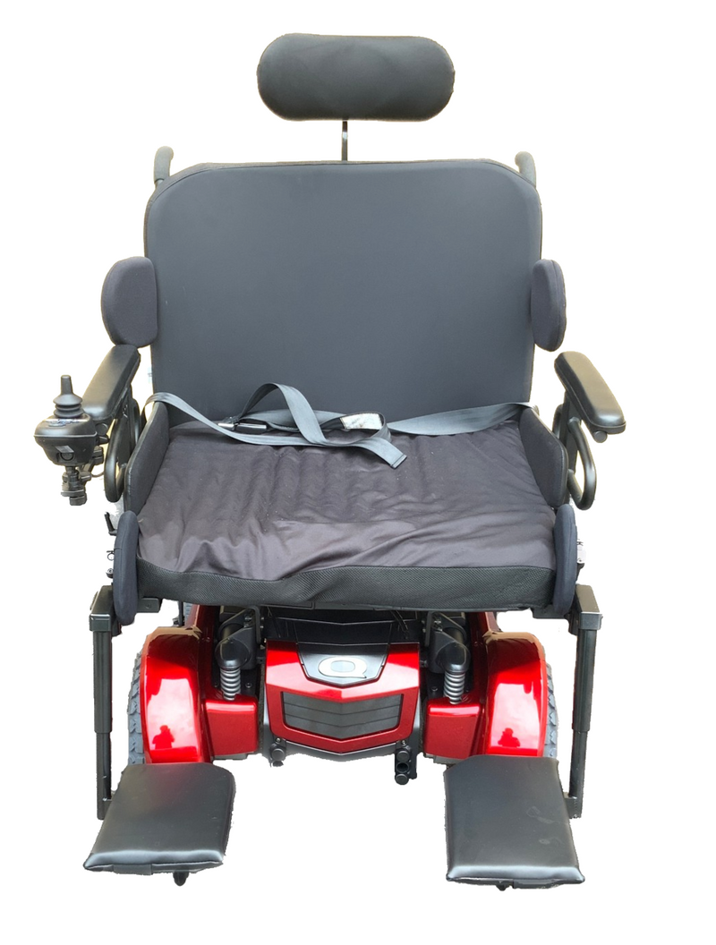 Front of Quantum 1450 Power Chair