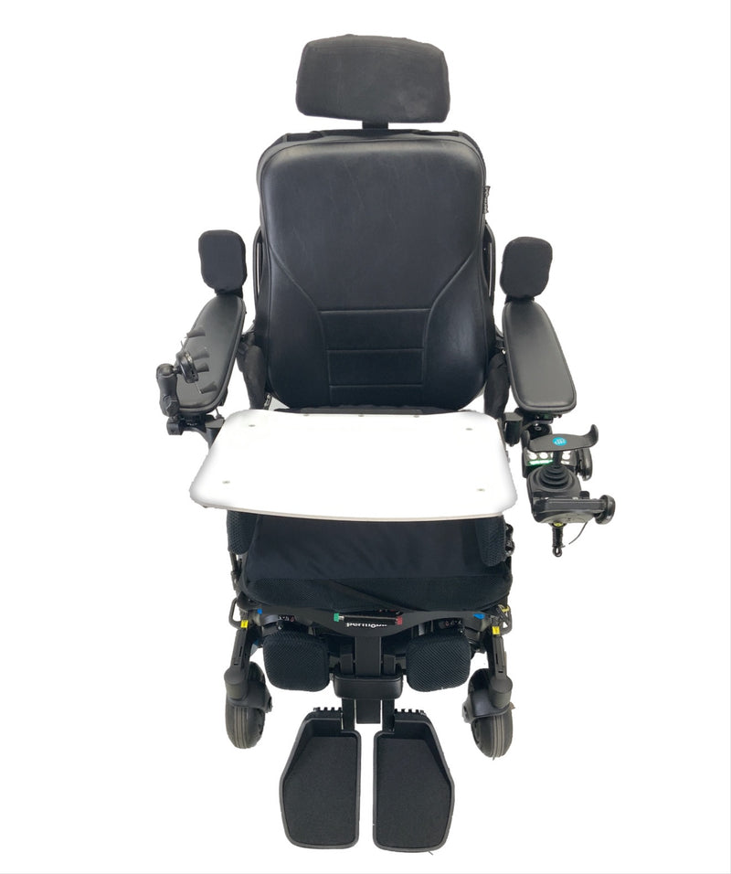Top view of the Like New 2020 Permobil M3 Power Chair | 19 x 20 Seat | Tilt, Recline, Power Legs | Only 25 Miles!
