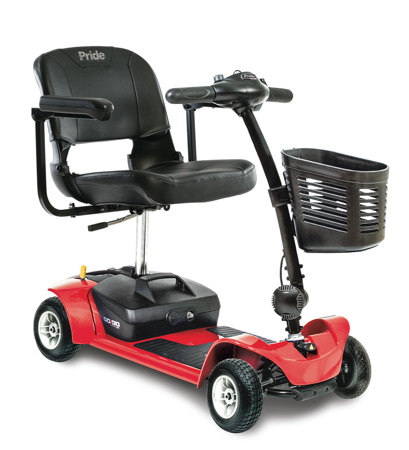 Red Pride Mobility Go-Go Ultra X 4-Wheel Mobility Scooter