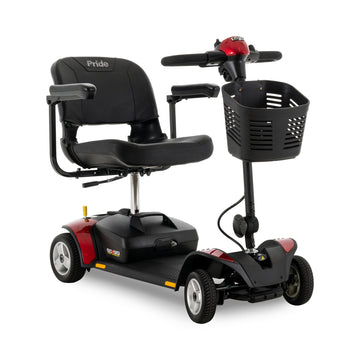 New Pride Mobility Go-Go Elite Traveller 4-Wheel Scooter | Lightweight & Portable | 300 lbs. Weight Capacity