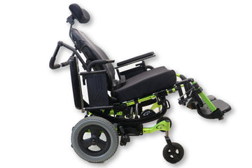 "Quickie Iris Tilt-In-Space Manual Wheelchair | 17""x18"" Seat & 17""x22"" Back Rest"