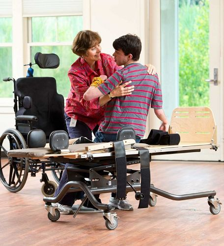 What is the Rifton E420 Pediatric Supine Stander  Safe and Secure Stander For All