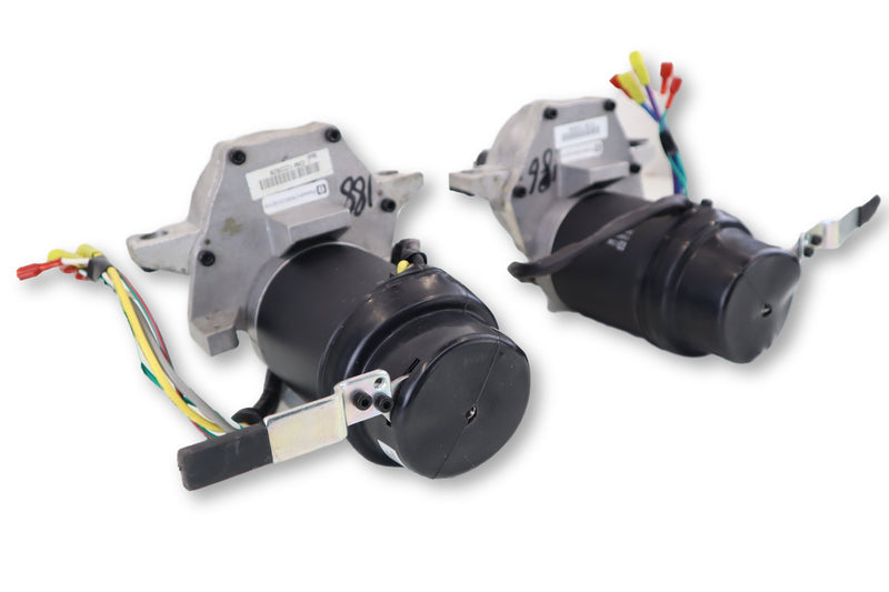 Hoveround MPV5 Left & Right Motor Assembly M16010428 | M16010427 | CM808-075E | CM808-075F | Replacement Motors & Gearbox - Power Chairs Test
