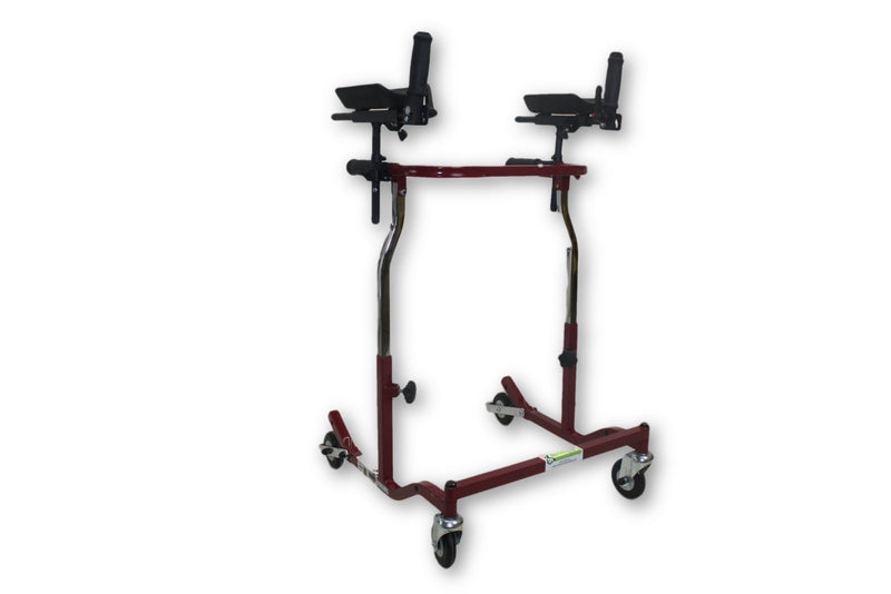 Drive Medical Red Rollator Walker | HX59JP | CE1000B - Power Chairs Test