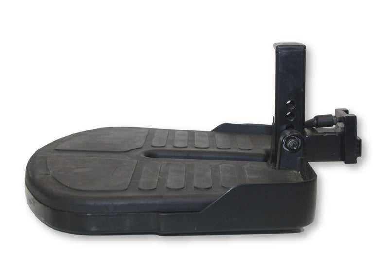 Jazzy Foot Platform Leg Rest With Mounting Hardware By Pride Mobility - Power Chairs Test