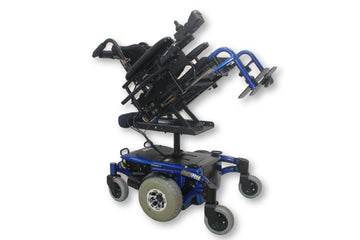Invacare TDX SPREE Power Chair With Tilt In Space & Seat Elevate