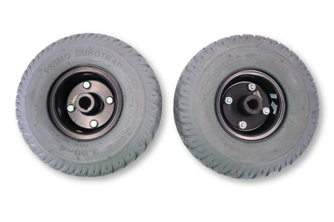 Flat Free Drive Wheels & Tire for Jet 3 Electric Wheelchair | (10