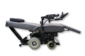 "ErgoQuest Zero Gravity Power Wheelchair | Tilt | Recline | Power Legs | 28"" x 21"" Seat"