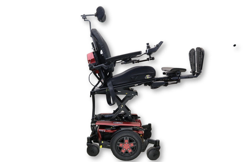 "Pride Quantum Q6 Edge 3 iLevel Electric Wheelchair | Seat Elevation | Powered Tilt, Recline & Leg Elevate | 19"" x 20"" Seat - Power Chairs Test"