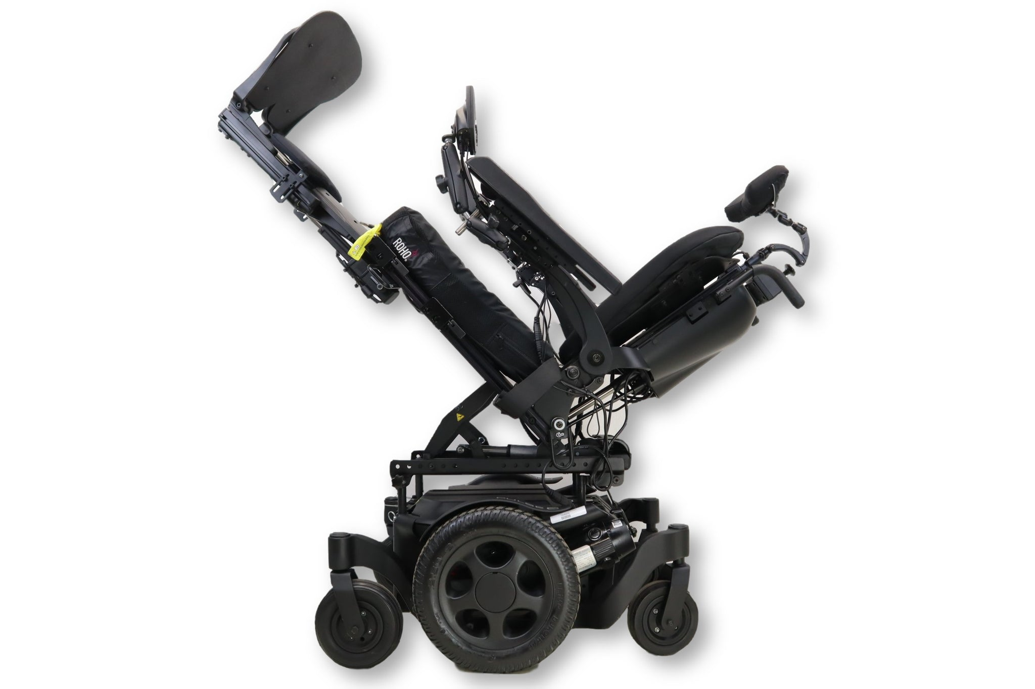 Quickie Pulse 6 Power Wheelchair With Tilt, Recline, & Power Legs