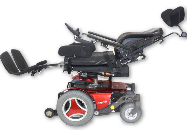 Permobil C300 FWD Electric Power Wheelchair (2015) Tilt, Recline & Power Legs