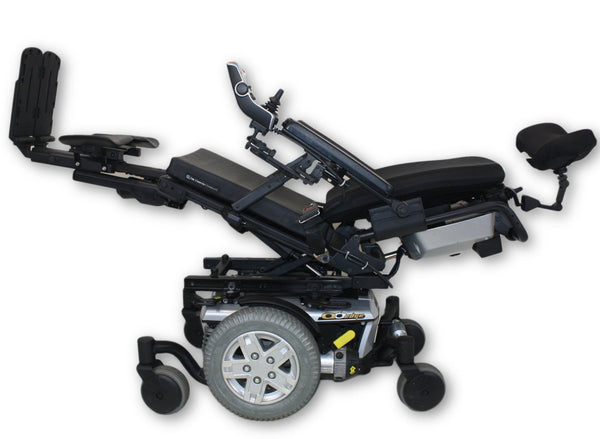 "2013 Quantum Q6 Edge MWD Electric Wheelchair | Tilt, Recline & Legs | 16""x19"" - Power Chairs Test"