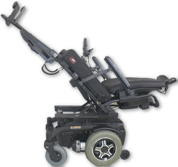 Quantum R-4000 Electric Wheelchair | Tilt, Recline, Legs, Attendant Control