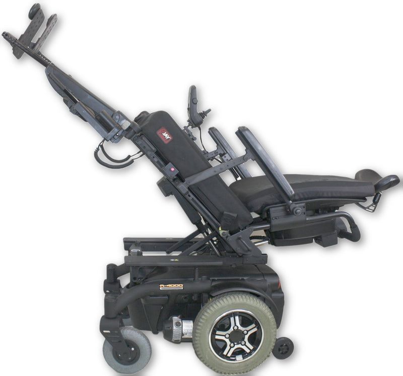 Quantum R-4000 Electric Wheelchair | Tilt, Recline, Legs, Attendant Control - Power Chairs Test