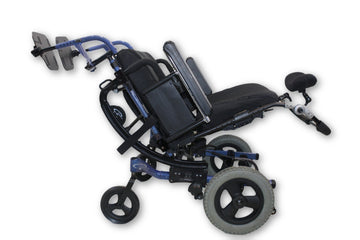 "Quickie IRIS Tilt-In-Space Manual Wheelchair | 18""x20"" Seat 